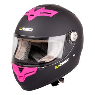 Moto helma W-TEC V105 černo-růžová - L (59-60)