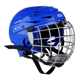Hokejová přilba WORKER Kayro modrá - M (54-58)