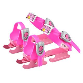 Dětské brusle kačenky WORKER Duckss Pink