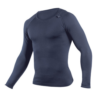 Pánské termo triko s dlouhým rukávem Coolmax lékořice - L/XL