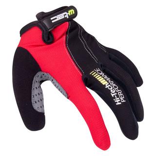 Motokrosové rukavice W-TEC Ratyno černo-červená - L