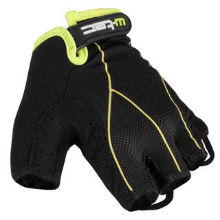 Pánské cyklo rukavice W-TEC Humyr černo-zelená - XL
