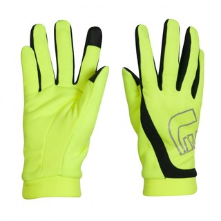 Běžecké rukavice Newline Thermal Gloves Visio - neon
