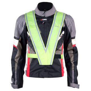 Moto bunda W-TEC Priamus PLUS černo-šedo-červená - 6XL