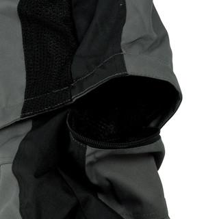 Moto kalhoty W-TEC Priamus - šedo-černá