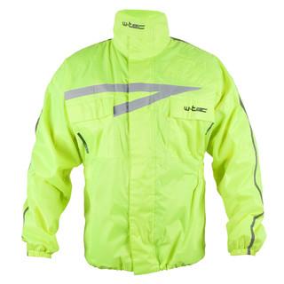 Moto pláštěnka W-TEC Rainy fluo žlutá - XS