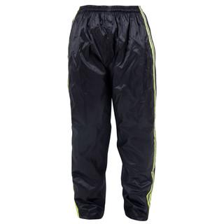 Pláštěnkové moto kalhoty W-TEC Rainy černo-žlutá - XS