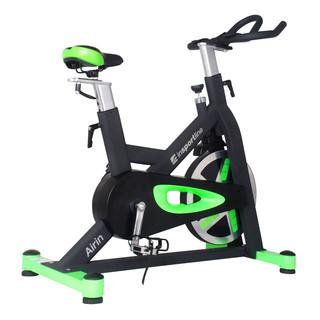 Cyklotrenažér inSPORTline Airin černo-zelená - Záruka 10 let + Servis u zákazníka