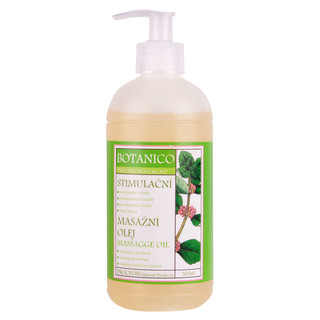 Stimulační masážní olej Botanico 500ml