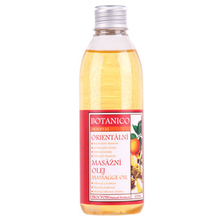 Orientální masážní olej Botanico 200ml