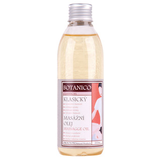 Klasický masážní olej Botanico 200ml