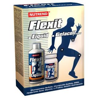 Vánoční balíček Drink Nutrend Flexit Liquid 500 ml + Flexit Gelacoll 180ks