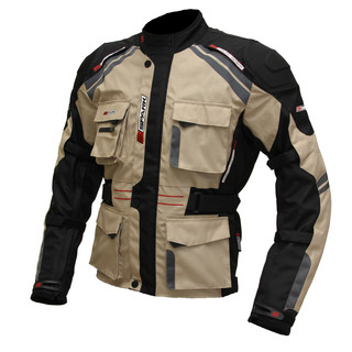 Moto bunda Spark Dakar pískovo-černá - 2XL