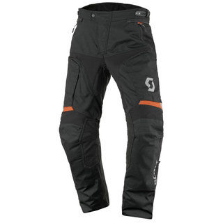 Moto kalhoty SCOTT Dualraid DP - Black-Orange