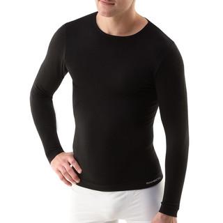 Pánské triko s dlouhým rukávem EcoBamboo černá - L/XL