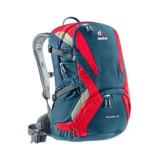Turistický batoh DEUTER Futura 22 - červeno-modrá - inSPORTline 5f3e752aae