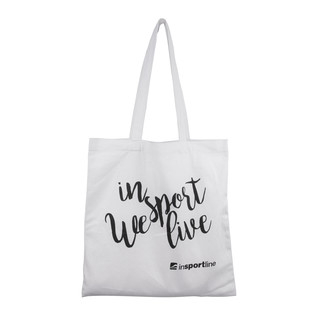 Plátěná taška inSPORTline Sportsa bílá