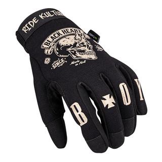 Moto rukavice W-TEC Black Heart Rioter černá - 4XL