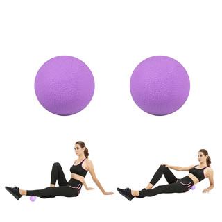 Masážní míčky inSPORTline Thera 6,5 cm fialová