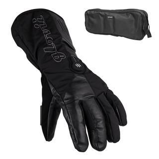 Vyhřívané lyžařské a moto rukavice Glovii GS9 černá - XL