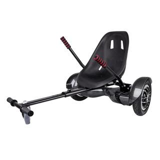 "Elektroboard Windrunner Fun A1 Art - 10"" carbon + sedátko Funcart černé"