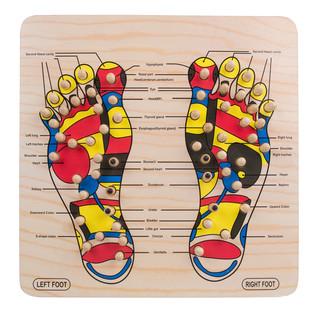 Masážní podložka na nohy inSPORTline Ashiqua