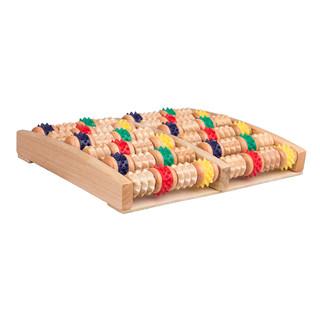 Dřevěná podložka na masáž nohou inSPORTline Rangkai