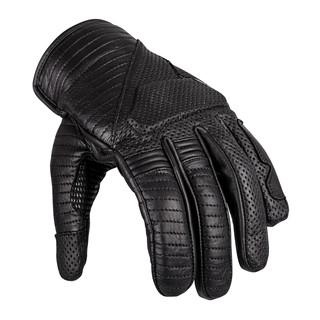 Kožené moto rukavice W-TEC Brillanta černá - 3XL
