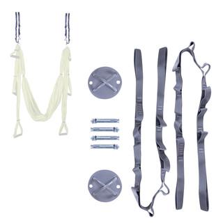 Stropní křížový držák s lany inSPORTline Hemmokstrap