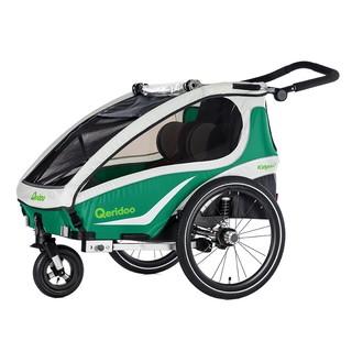 Multifunkční dětský vozík Qeridoo KidGoo 2 2018 zelená