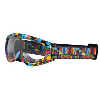Motokrosové brýle kids W-TEC Spooner s grafikou barevná grafika