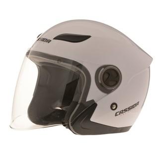Moto helma Cassida Reflex bílá - XL (61-62)