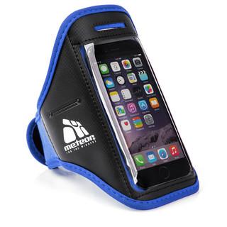 Běžecký obal na telefon s kapsičkou Meteor modrá