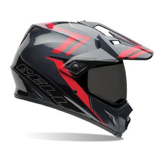 Motokrosová přilba BELL MX-9 Adventure červeno-černá - L (59-60) - Záruka 5 let