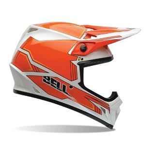 Motokrosová přilba BELL MX-9 oranžovo-bílá - L (59-60) - Záruka 5 let
