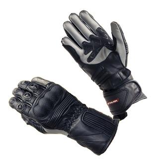 Kožené moto rukavice Spark Modena černo-šedá - 3XL
