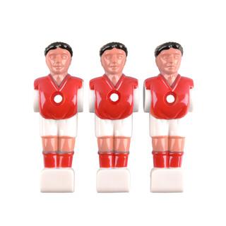 Náhradní hráč pro stolní fotbal Spartan Paili (na 13 mm tyč) červená