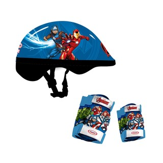 Sada chráničů a helmy Avengers Protection Set 5-dílná