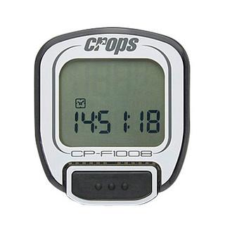 Cyklocomputer Crops F1008 bílá