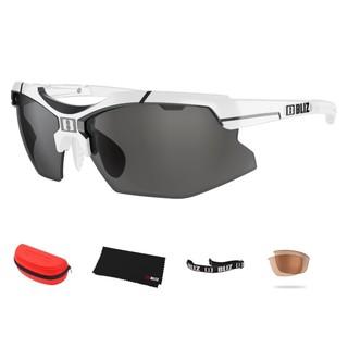 Sportovní sluneční brýle Bliz Force bílé