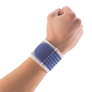 Thuasne pásková bandáž zápěstí modrá