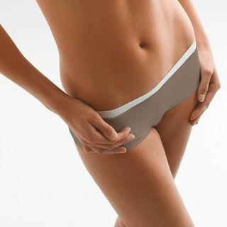 Dámské bezešvé kalhotky Thuasne TooSkin s nohavičkou béžová - L