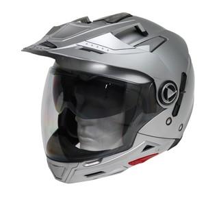 Moto helma Cyber US 101 stříbrná - XL (61-62)