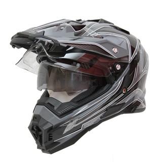 Motokrosová helma Cyber UX 33 černo-šedá - XXL (63-64)