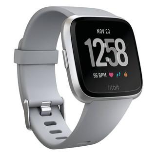 Chytré hodinky FITBIT Versa Gray/Silver Aluminum