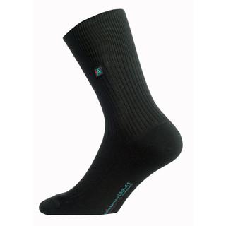 Ponožky ASSISTANCE - bez elastanu černá - XL (45-47)