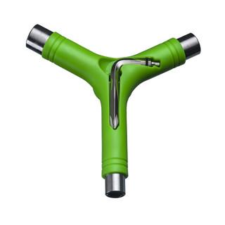 Y klíč na skateboard zelená