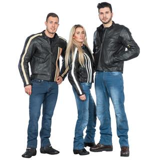 Pánské moto jeansy W-TEC Shiquet - modrá