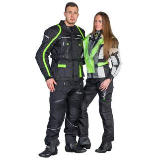 Pánské moto kalhoty W-TEC NF-2607 - černá