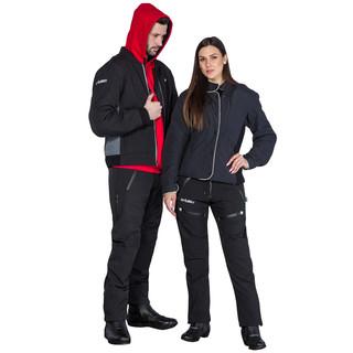Dámské softshell moto kalhoty W-TEC NF-2881 - černá